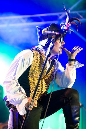 Adam Ant at Guilfest 2011