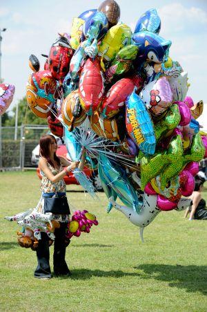 Balloon Vendor @ Guilfest Music Festival