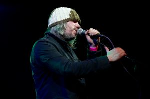 Badly Drawn Boy performs at the At the Edge of the Sea one-day festival hosted by The Wedding Present