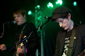 Dirty Fingernails perform at the At the Edge of the Sea one-day festival hosted by The Wedding Present