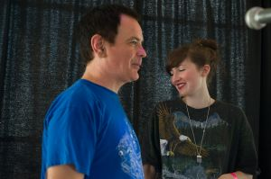 David Gedge with Summer Camp at the At the Edge of the Sea one-day festival hosted by The Wedding Present