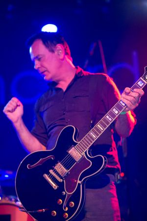 The Wedding Present conclude proceedings at the annual, bank holiday extravaganza At the Edge of the Sea, hosted by The Wedding Present at Concorde2 in Brighton, August 24, 2014.