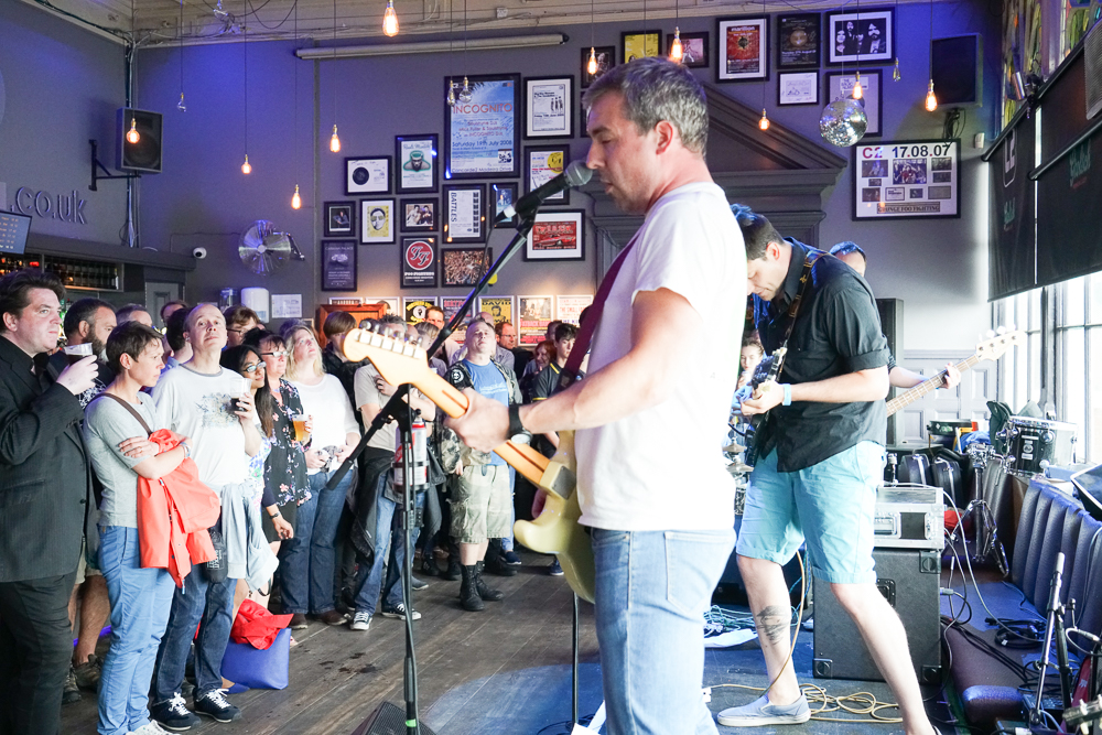Bar Creep on the Swim Stage at the At the Edge of the Sea at Concorde2, Brighton, Sussex- 20 Aug 2016