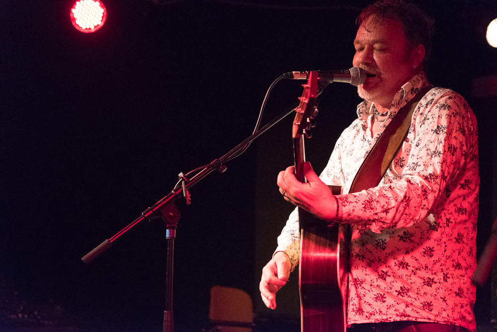Mark Chadwick at the Mark Chadwick Solo Event at The Con Club, Lewes, Sussex- 12 Oct 2017