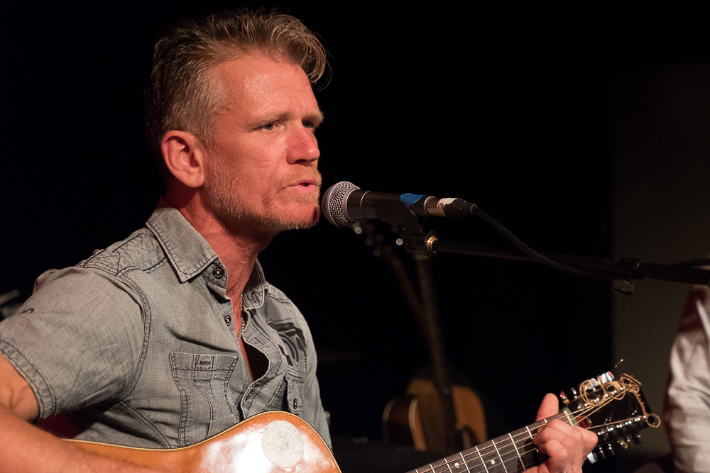 Stee supporting Mark Chadwick at the Mark Chadwick Solo Event at The Con Club, Lewes, Sussex- 12 Oct 2017