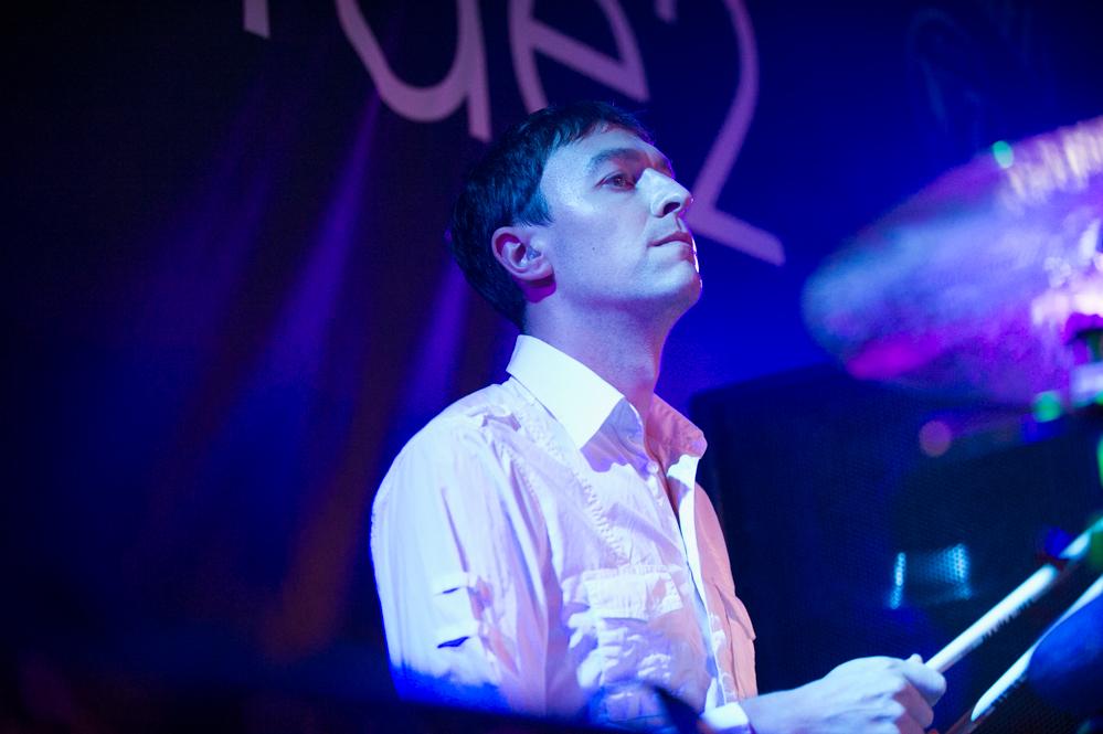 Charlie Layton of Cinerama at The Edge of the Sea mini festival at Concorde2, Brighton - 25 Aug 2013