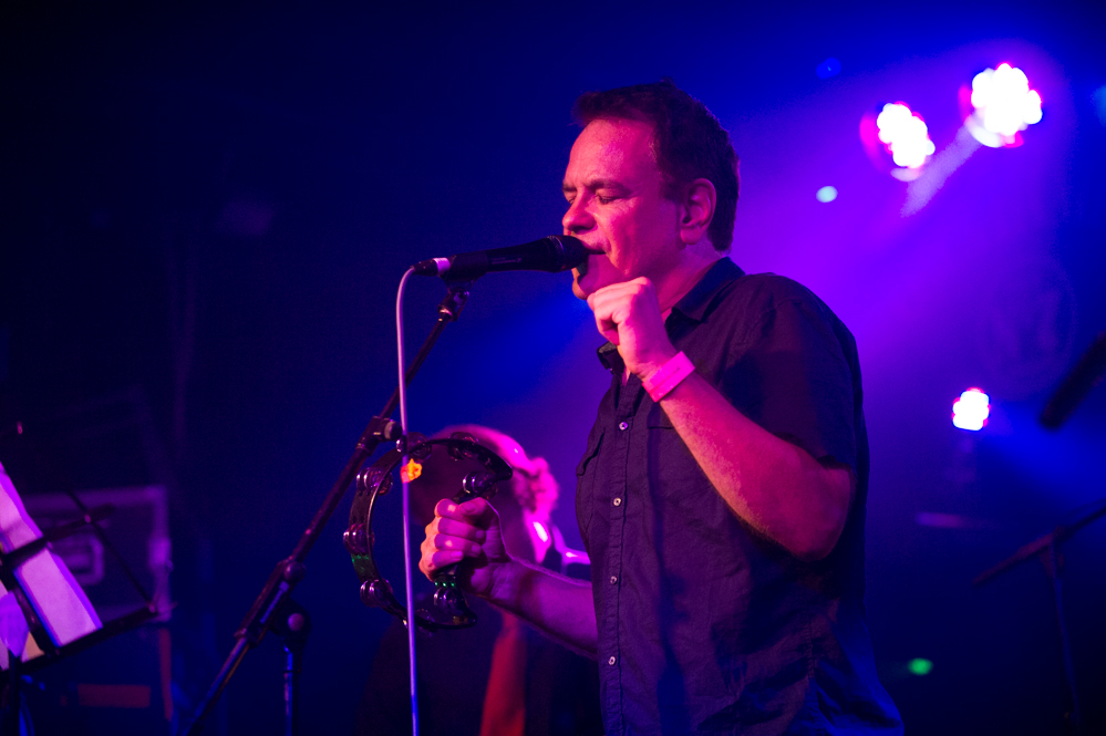 David Gedge playing with Cinerama at the The Edge of the Sea mini festival at Concorde2, Brighton - 24 Aug 20130824 2013