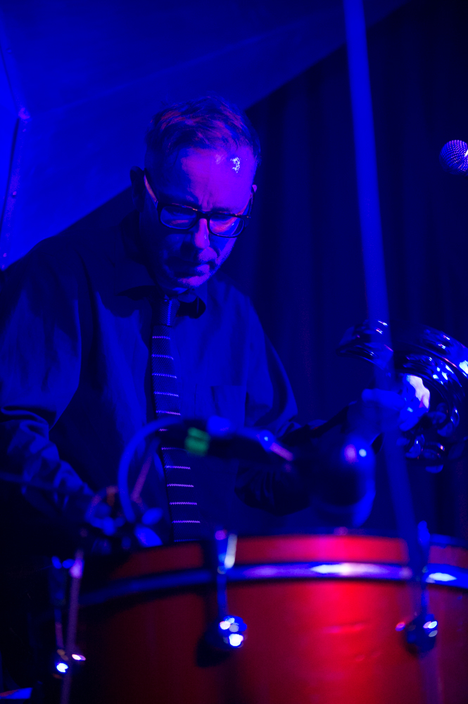 Darren Belk of Flying Wing at The Edge of the Sea mini festival at Concorde2, Brighton - 24 Aug 20130824 2013