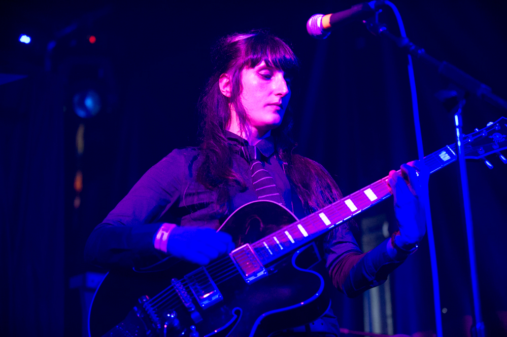 Missy Tassles of Flying Wing at The Edge of the Sea mini festival at Concorde2, Brighton - 24 Aug 20130824 2013