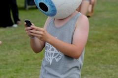 Crowd @ Guilfest Music Festival, Guildford, Surrey, England. Sat, 16 July, 2011.