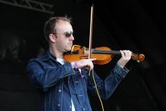Claire Nicholson's band @ Guilfest Music Festival, Guildford, Surrey, England. Sat, 16 July, 2011.