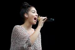 Yasmin @ Guilfest Music Festival, Guildford, Surrey, England. Sun, 17 July, 2011.