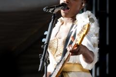 The Noisettes @ Guilfest Music Festival, Guildford, Surrey, England. Sun, 17 July, 2011.