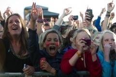 Crowd@ Guilfest Music Festival, Guildford, Surrey, England. Sun, 17 July, 2011.