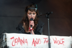 Joana and the Wolf @ Guilfest Music Festival, Guildford, Surrey, England. Sun, 17 July, 2011.