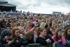 Crowd @ Guilfest Music Festival, Guildford, Surrey, England. Sun, 17 July, 2011.