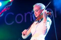 Erica Nockalls of the Wonderstuff at The Edge of the Sea mini festival at Concorde2, Brighton - 25 Aug 2013