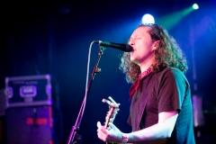 Miles Hunt of the Wonderstuff at The Edge of the Sea mini festival at Concorde2, Brighton - 25 Aug 2013