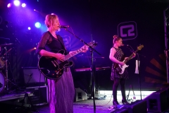 Terry de Castro and Danielle Wadey on Le Bikini Stage at the At the Edge of the Sea at Concorde2, Brighton, Sussex- 20 Aug 2016