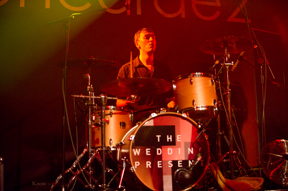 Charlie Layton of The Wedding Present at the The Edge of the Sea mini festival at Concorde2, Brighton - 24 Aug 20130824 2013