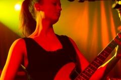 Katharine Wallinger of The Wedding Present at The Edge of the Sea mini festival at Concorde2, Brighton - 24 Aug 20130824 2013
