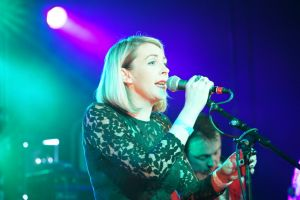 Melys at the At the Edge of the Sea mini festival curated by The Wedding Present at Concorde2 in Brighton