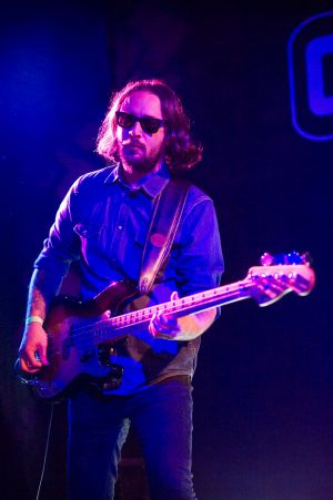 Umut Adan perform at the annual, bank holiday extravaganza At the Edge of the Sea, hosted by The Wedding Present at Concorde2 in Brighton, August 24, 2014.